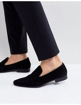 Pier One Suede Loafers In Black by Pier One