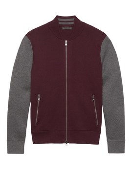 Br X Kevin Love | Sweater Bomber Jacket by Banana Repbulic