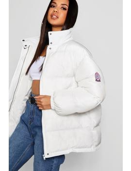 Sporty Puffer Jacket by Boohoo