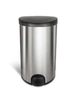 Nine Stars 13.2 Gallon Touch Top Trash Can & Reviews by Nine Stars