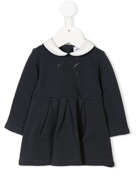 Sequin Logo Casual Dress by Emporio Armani Kids