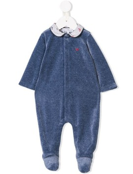 Peter Pan Collar Pajamas by Emporio Armani Kids