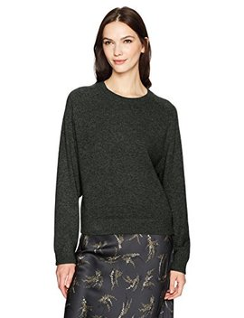 Vince Women's Wide Saddle Pullover Sweater by Vince
