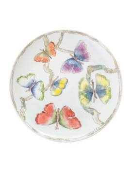 Butterfly Gingko Tidbit Plates, Set Of 4 by Michael Aram