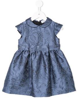 Floral Jacquard Dress by Emporio Armani Kids