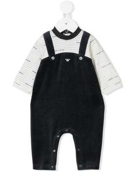 Jumpsuit Style Romper by Emporio Armani Kids
