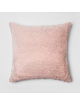 Pink Zipper Velvet Throw Pillow   Project 62™ + Nate Berkus™ by Shop This Collection