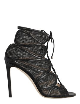 Malena Mesh Booties by Jimmy Choo