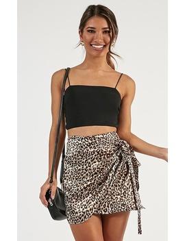 Wild Girl Skirt In Leopard by Showpo Fashion