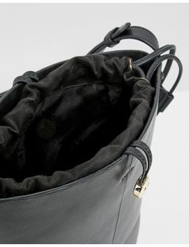 Paul Costelloe Real Leather Bucket Bag by Asos Brand