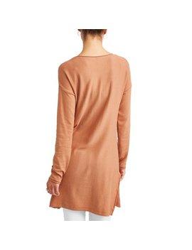 Women's Long Tunic Sweater by Donna Sorento