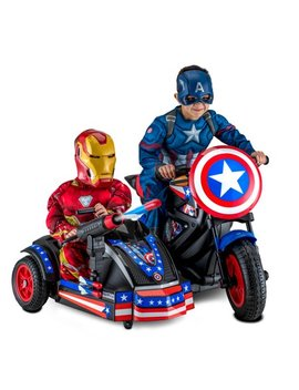 Kid Trax 12 Volt Captain America Motorcycle Ride On by Kid Trax
