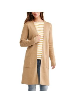 Women's Double Knit Cardigan by Time And Tru