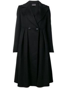 Buttoned Midi Coat by Emporio Armani