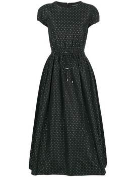 Dotted Cocktail Dress by Emporio Armani