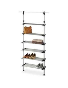 Whitmor 6 Shelf Metal Shoe Rack System by Whitmor