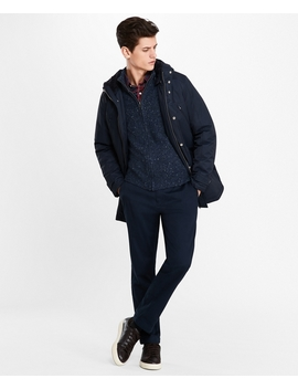 Sherpa Lined Water Repellent Parka by Brooks Brothers