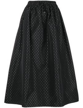 Dot Mid Length Skirt by Emporio Armani