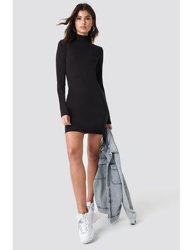 High Neck Bodycon Dress by Nicki X Na Kd