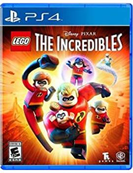 Lego Disney Pixar's The Incredibles   Ps4 by By          Warner Home Video   Games
