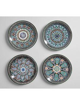Mezze Salad Plate   Blue by Pottery Barn