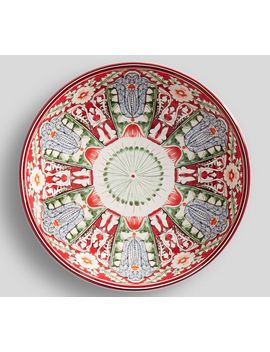 Mezze Small Serve Bowl   Red by Pottery Barn