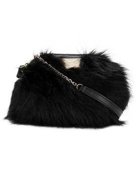 Small Faux Fur Bag by Emporio Armani