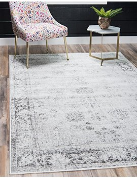 Unique Loom Sofia Collection Traditional Vintage Gray Area Rug (9' X 12') by Unique Loom