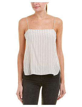 Vince Striped Silk Camisole by Vince