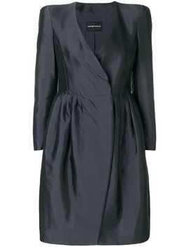 Structured Mini Dress by Emporio Armani