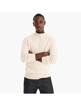 Rugged Merino Wool Raglan Rollneck™ Sweater by J.Crew
