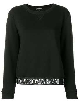 Branded Band Sweatshirt by Emporio Armani