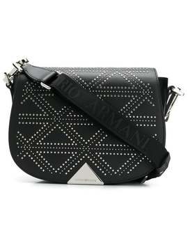 Micro Studs Shoulder Bag by Emporio Armani