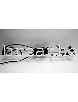 Oliver Gal Breathe Neon Sign & Reviews by Oliver Gal
