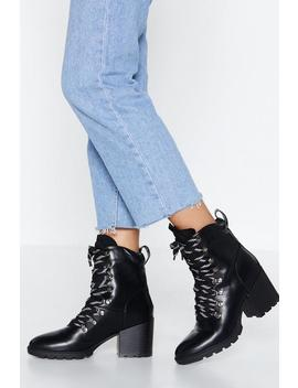 Fairy Tale High Ankle Boot by Nasty Gal