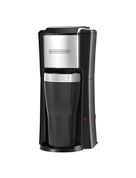 Black+Decker Single Serve Coffeemaker, Black, Cm618 by Black+Decker