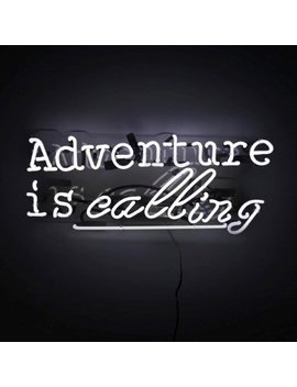 Oliver Gal Adventure Neon Sign by Oliver Gal