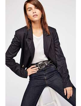 Cut It Short Blazer by Free People