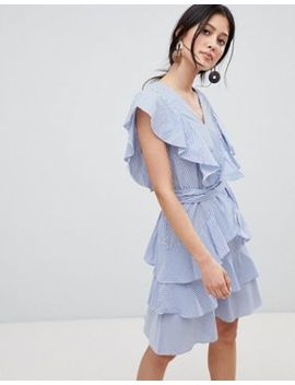 Y.A.S Frill Detail Tiered Dress by Y.A.S.