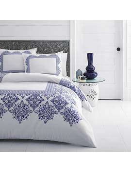 Azalea Skye Cora Blue Comforter Bonus Set by Azalea Skye