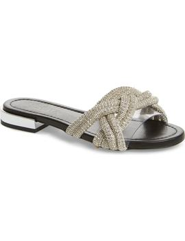 Lindy Braided Slide Sandal by Schutz