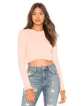 Irene Crop Sweater by Lovers + Friends