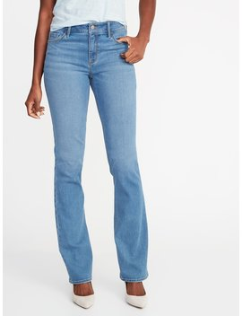 Mid Rise Boot Cut Jeans For Women by Old Navy