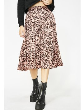 Wild About You Leopard Skirt by Her Bottari
