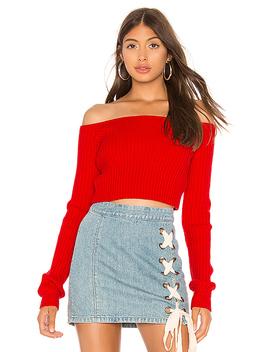 Bells Crop Sweater by Lovers + Friends