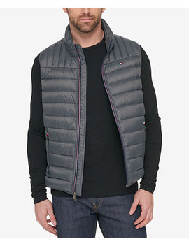 Men's Quilted Vest by Tommy Hilfiger
