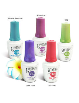 Harmony Nail Gelish Dip Essentials (Prep,Base,Top<Wbr>, Etc) 0.5oz *Chose Any One* by Harmony Gelish Dip