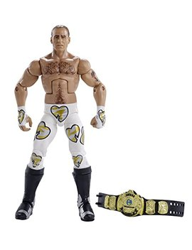 Wwe Wrestlemania Elite Shawn Michaels Wrestlemania 12 Action Figure by Wwe