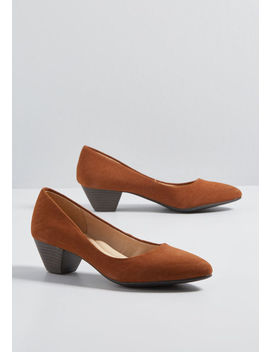 Secure Footing Mid Heel by Modcloth