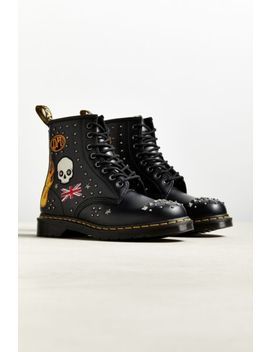 Dr. Martens 1460 8 Eye Stud Boot by Dr. Martens